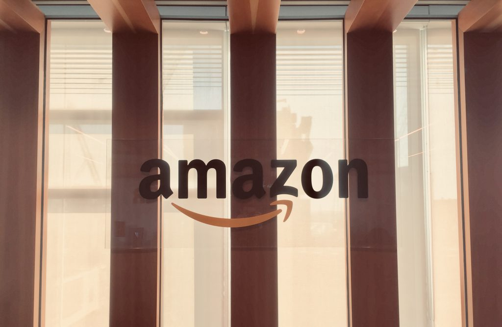 Amazon logo reception